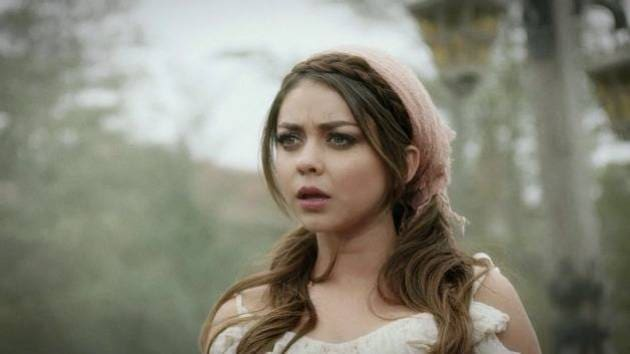Sarah Hyland in Fantasy Parade - Sleeping Beauty Featurette