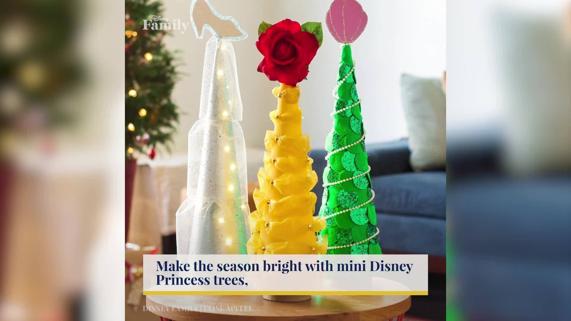 Mini Trees for Your Little Princess | Disney Family