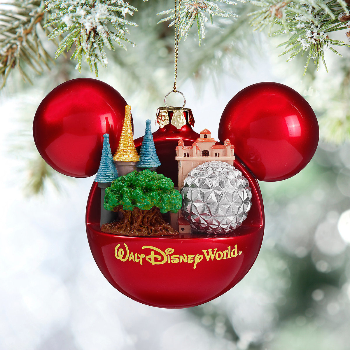 Mickey Mouse Icon Ball Ornament  Walt Disney World