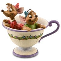 Image of Gus and Jaq ''Tea for Two'' Figurine by Jim Shore # 1