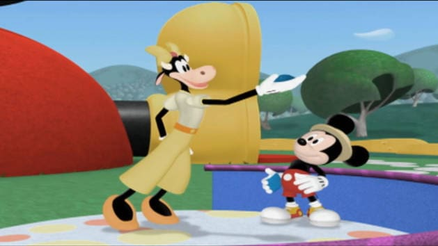 Lanzamiento con Clarabella - Mousekejercicios