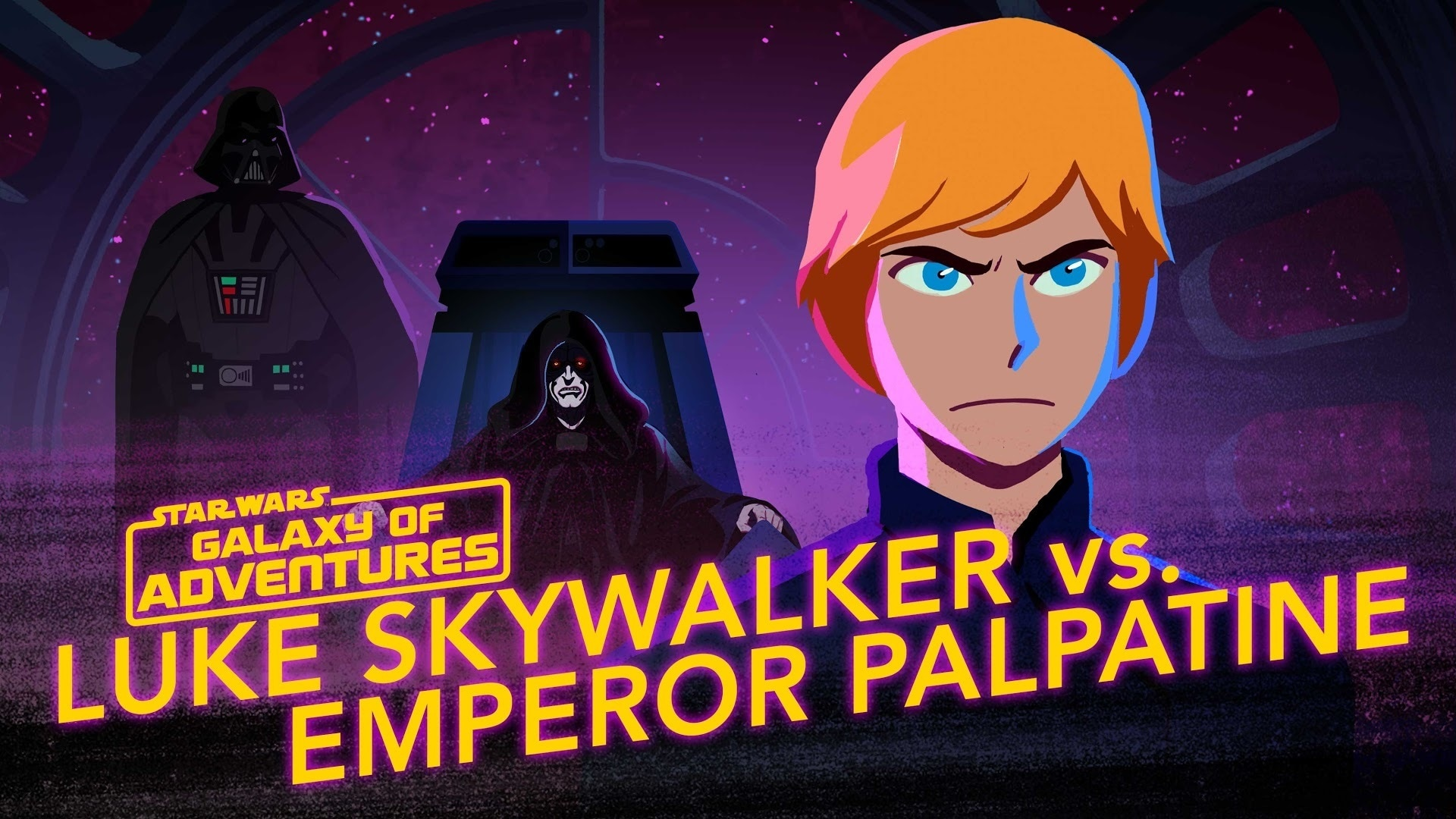 Luke vs. Emperor Palpatine – Rise to Evil | Star Wars Galaxy of Adventures