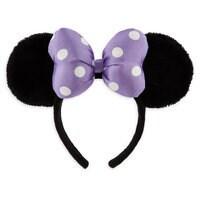 Minnie Mouse Ear Headband for Kids - Purple