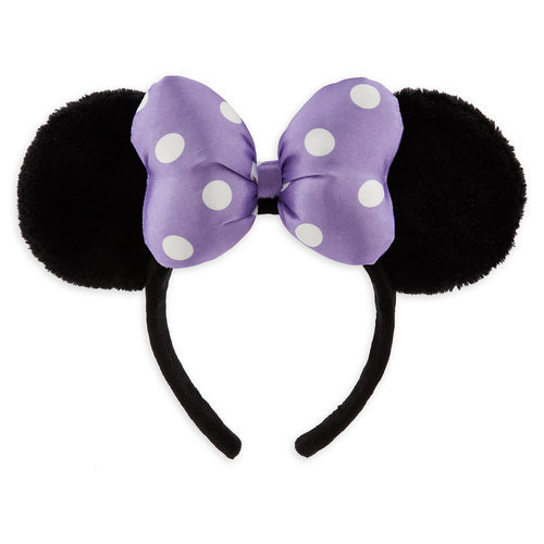 Minnie Mouse Ear Headband For Kids Purple Shopdisney