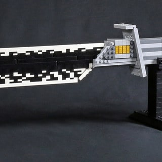 Most Impressive Fans: How Taylor Walker Built an Amazing, Homemade LEGO Darksaber