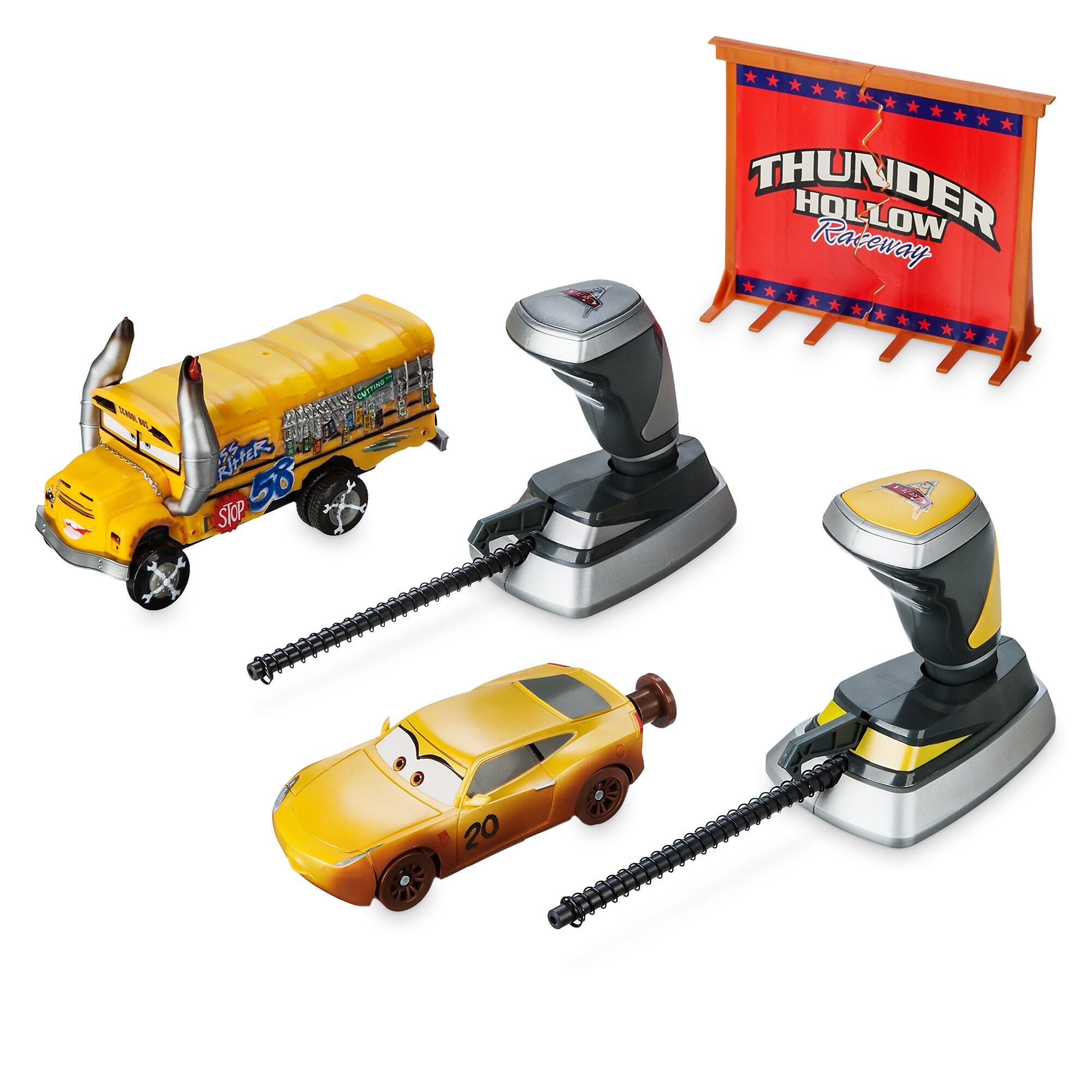 Thunder Hollow Crazy 8's Demolition 2-Car Crash Set - Cars 3