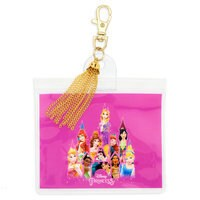 Disney Princess Pin Lanyard Pouch with Tassel