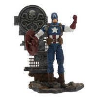 Image of Captain America Action Figure - Marvel Select - 7'' # 5