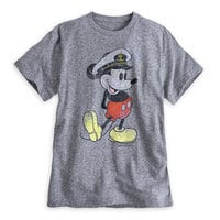 Captain Mickey Mouse Tee for Men - Disney Cruise Line