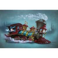 Image of Mickey Mouse ''Little Engin'ear''' Giclée by Noah # 1