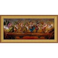 Seven Dwarfs ''Going Home'' Giclée by Darren Wilson