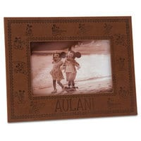 Mickey Mouse Leatherette Photo Frame - Aulani, A Disney Resort & Spa - 4'' x 6''