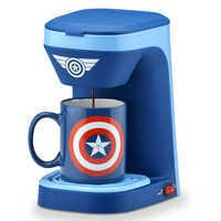 Image of Captain America 1-Cup Coffee Maker # 1
