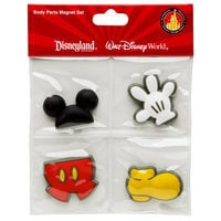 Best of Mickey Mouse Magnet Set -- 4-Pc.