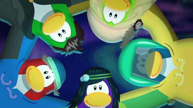 La nieve es genial - Club Penguin
