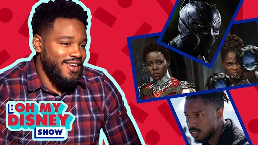 Ryan Coogler on the Making of Marvel Studios' Black Panther  | Oh My Disney Show