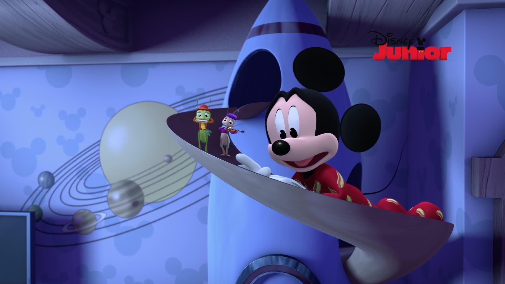 Mickey Mouse y su amigo Pluto | Buenas noches, Mickey