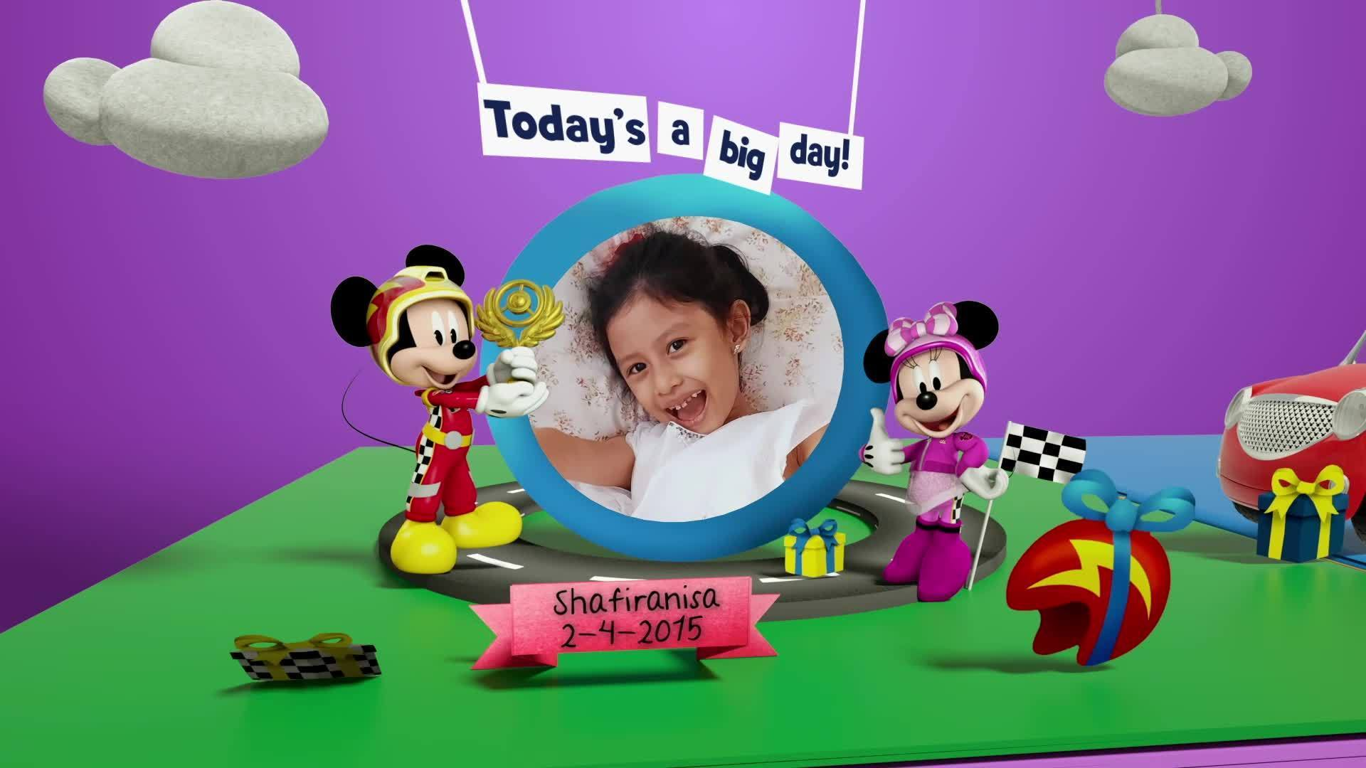 Disney Junior Birthday Book 2021 April Album 1