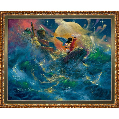 Mickey Mouse ''Sorcerer Symphony'' Giclée by James Coleman