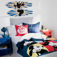 Image of Mickey Mouse Oh Boy Pillow by Ethan Allen # 4