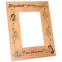 Image of Walt Disney World Disney Princess Photo Frame by Arribas - Personalizable # 2