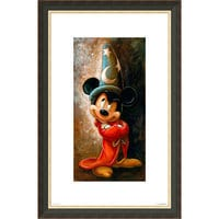 Image of Sorcerer Mickey Mouse Giclée by Darren Wilson # 3