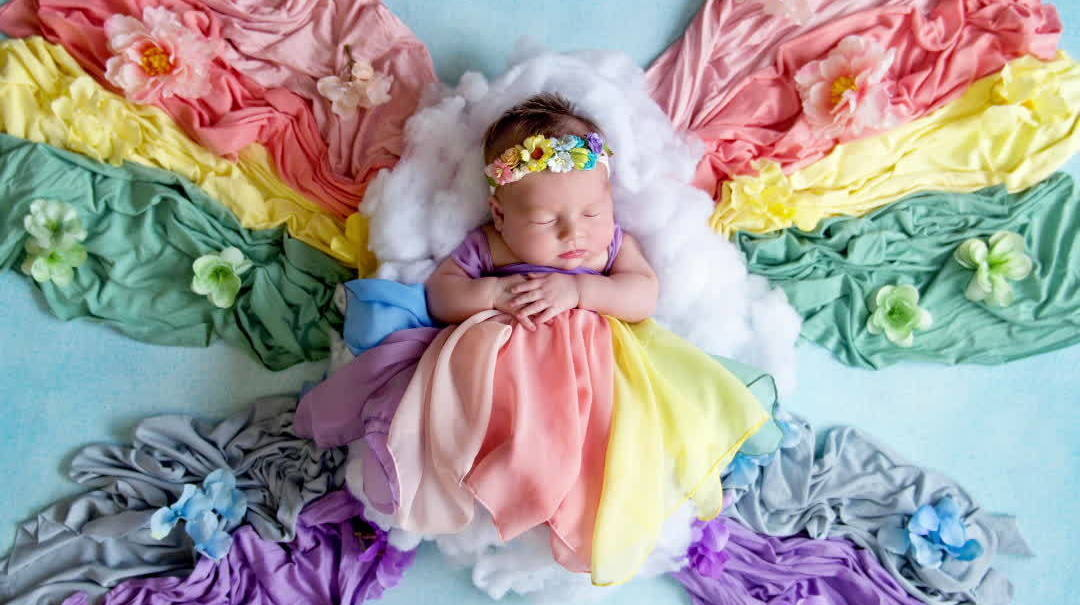 """Moms Honor Their """"Rainbow Babies"""" with Stunning Photo Shoots"""