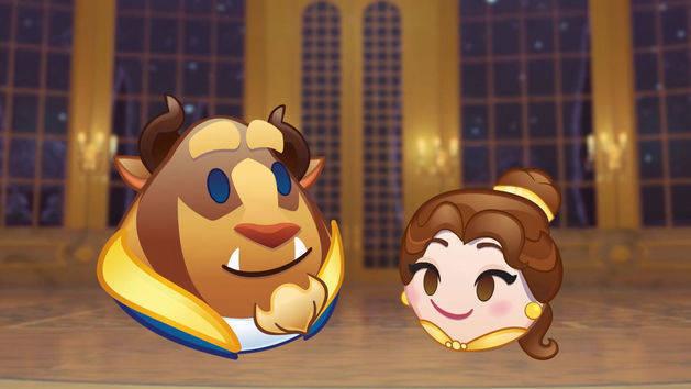 La Bella y la Bestia contado en Emoji