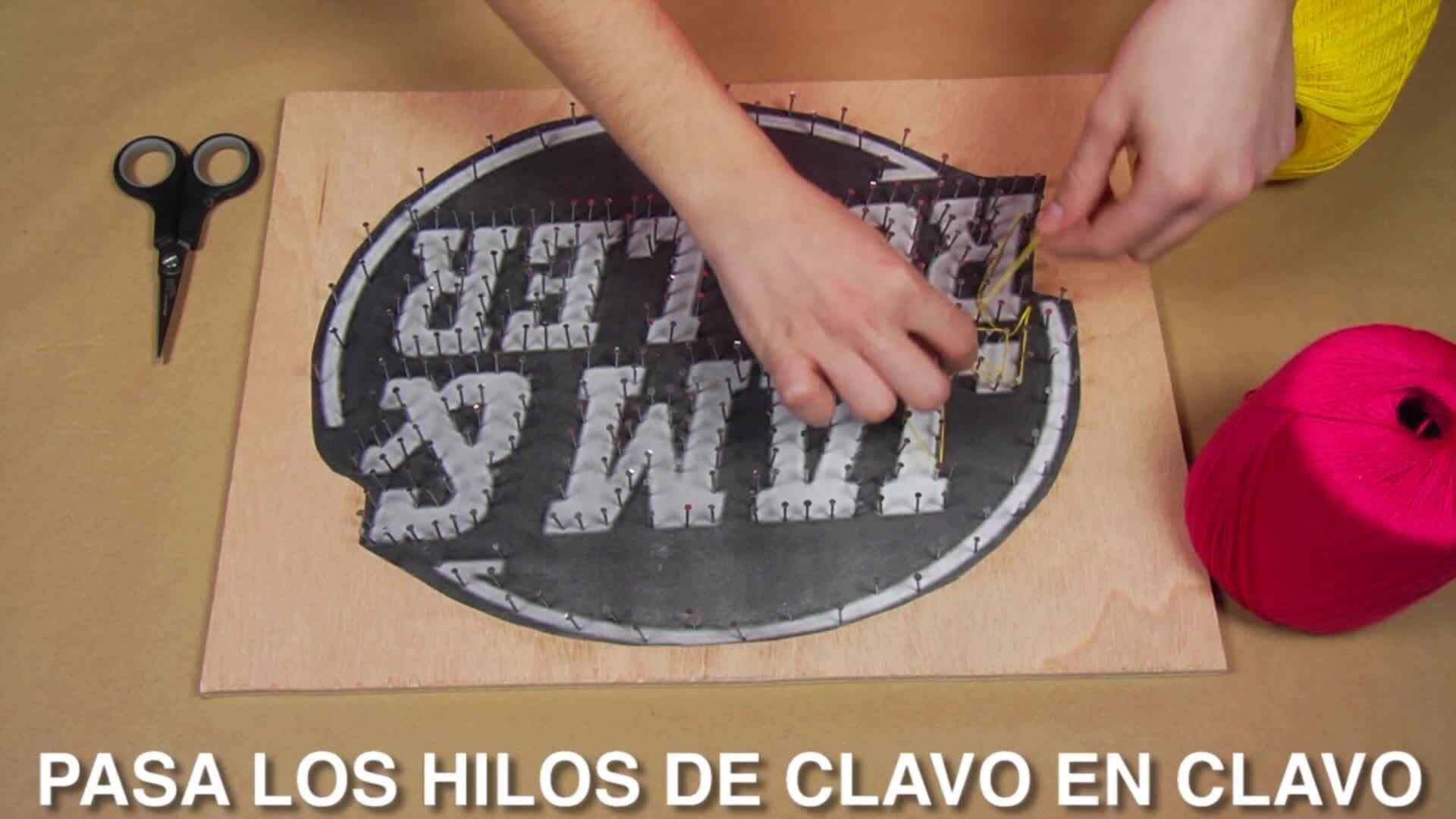 Vlog Lu, de Luna - Manualidad de hilo Jam&Roller