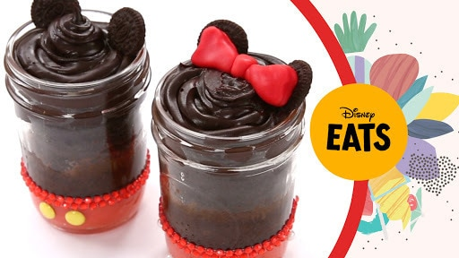Mickey & Minnie Cake Jars | Disney Eats