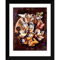 Image of Mickey Mouse and Friends ''Super Gang'' Giclée by Darren Wilson # 2