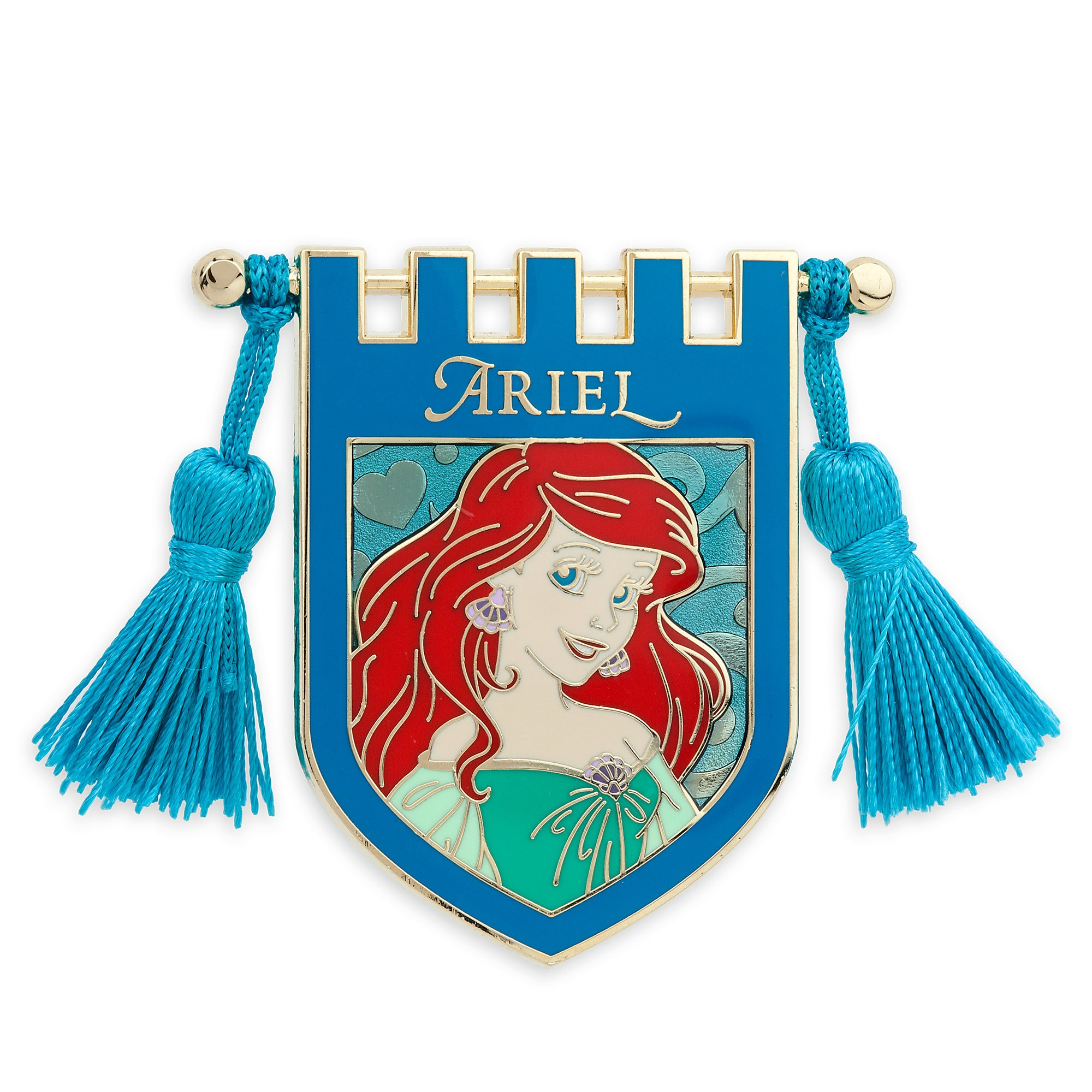 Ariel Banner Pin