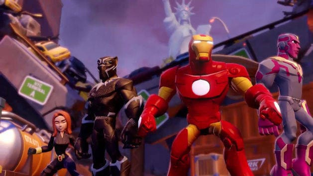 Marvel Battlegrounds Play Set Out Now - Disney Infinity 3.0