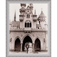 Walt Disney at Sleeping Beauty Castle Giclé