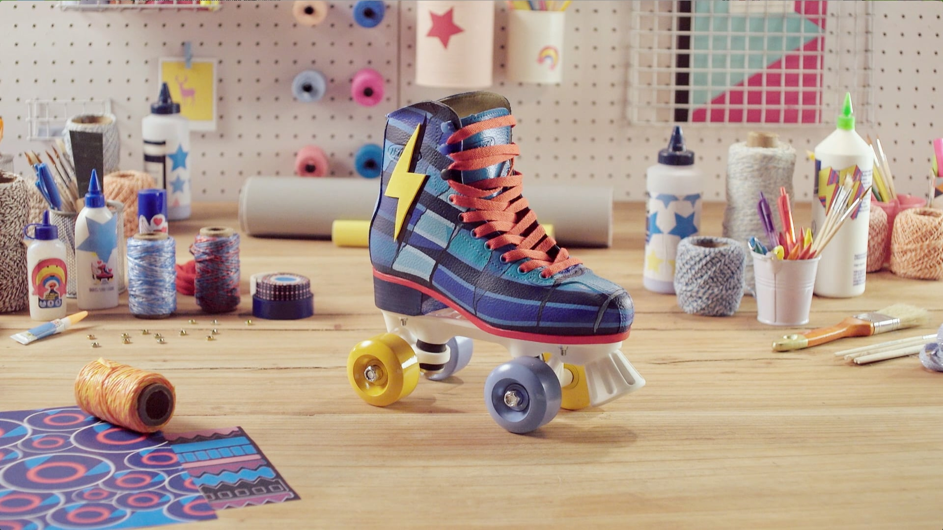 Customizando seus Patins – Look Simon - Sou Luna