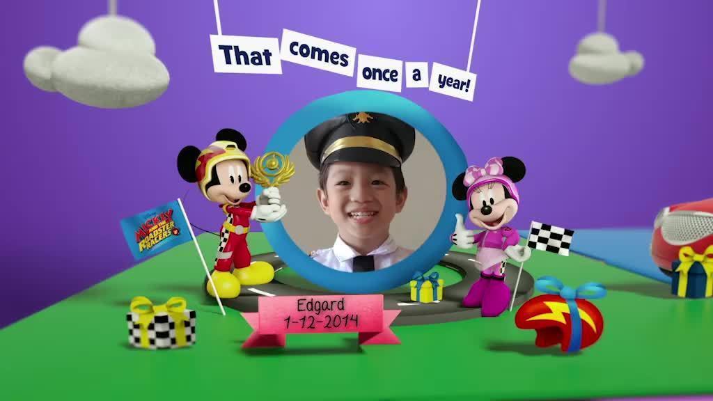 Disney Junior Birthday Book 2019 December Album 4