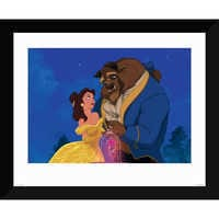 Image of ''Beauty and the Beast Dancing'' Giclé # 1