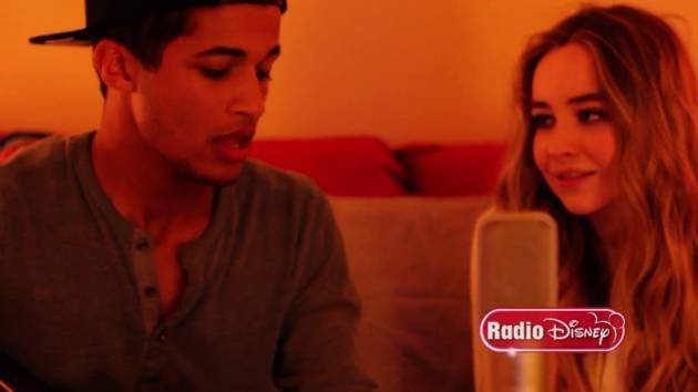 """Christmas (Baby Please Come Home)"" Music Video - Jordan Fisher and Sabrina Carpenter - Radio Disney"
