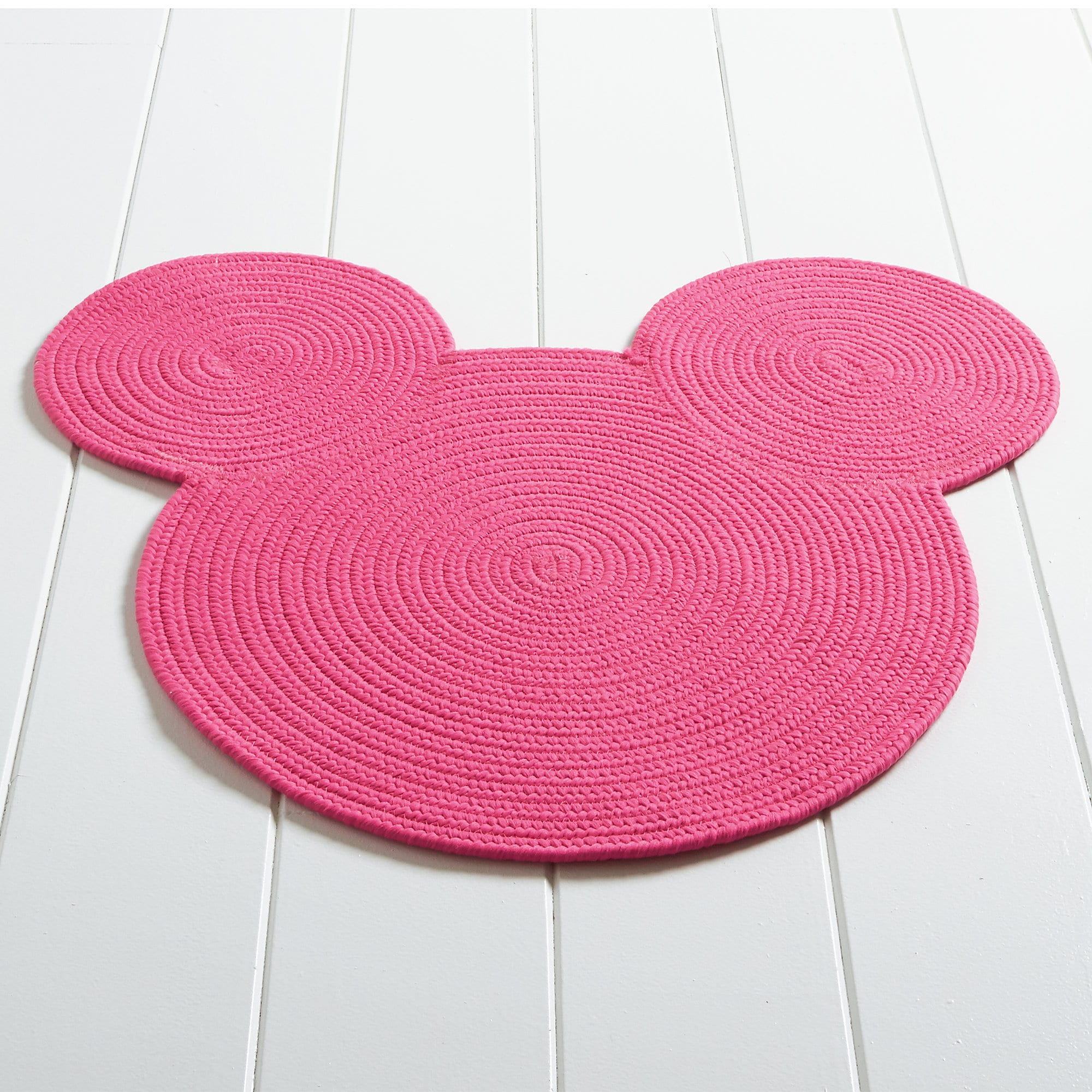 Superb Mickey Mouse Braided Rug By Ethan Allen