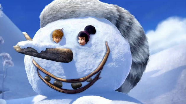 Tinker Bell: Secret of the Wings: How to Build a Snowman