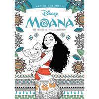 Image of Disney Moana: Art of Coloring Book # 1