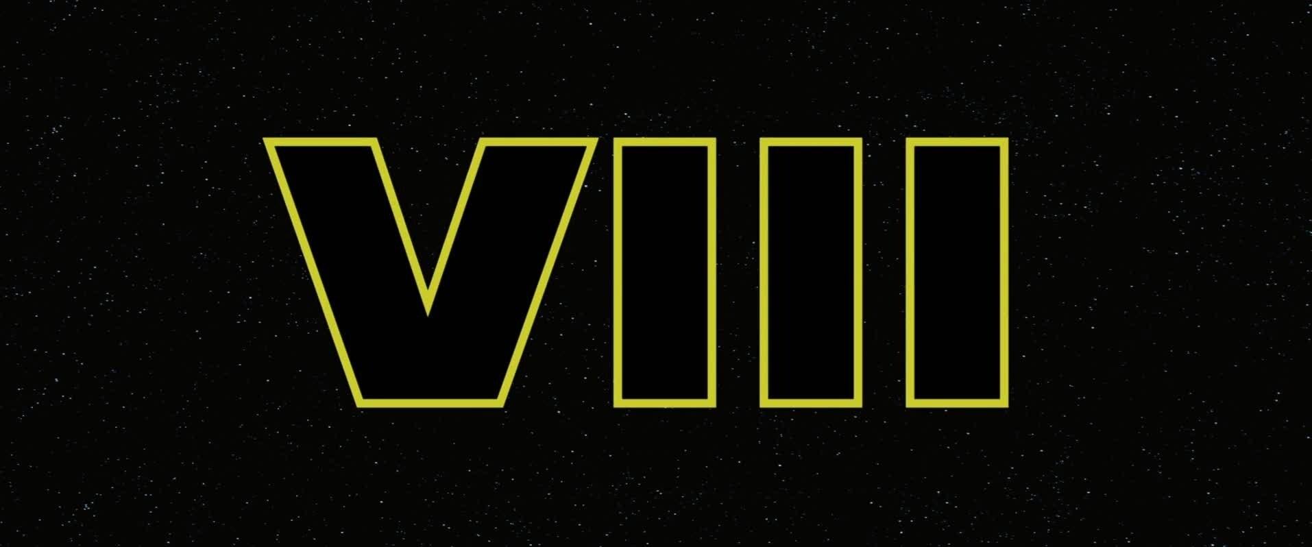 Star Wars: Episode VIII Announcement