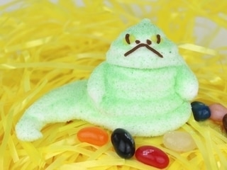 Jabba the Hutt Marshmallow Treats