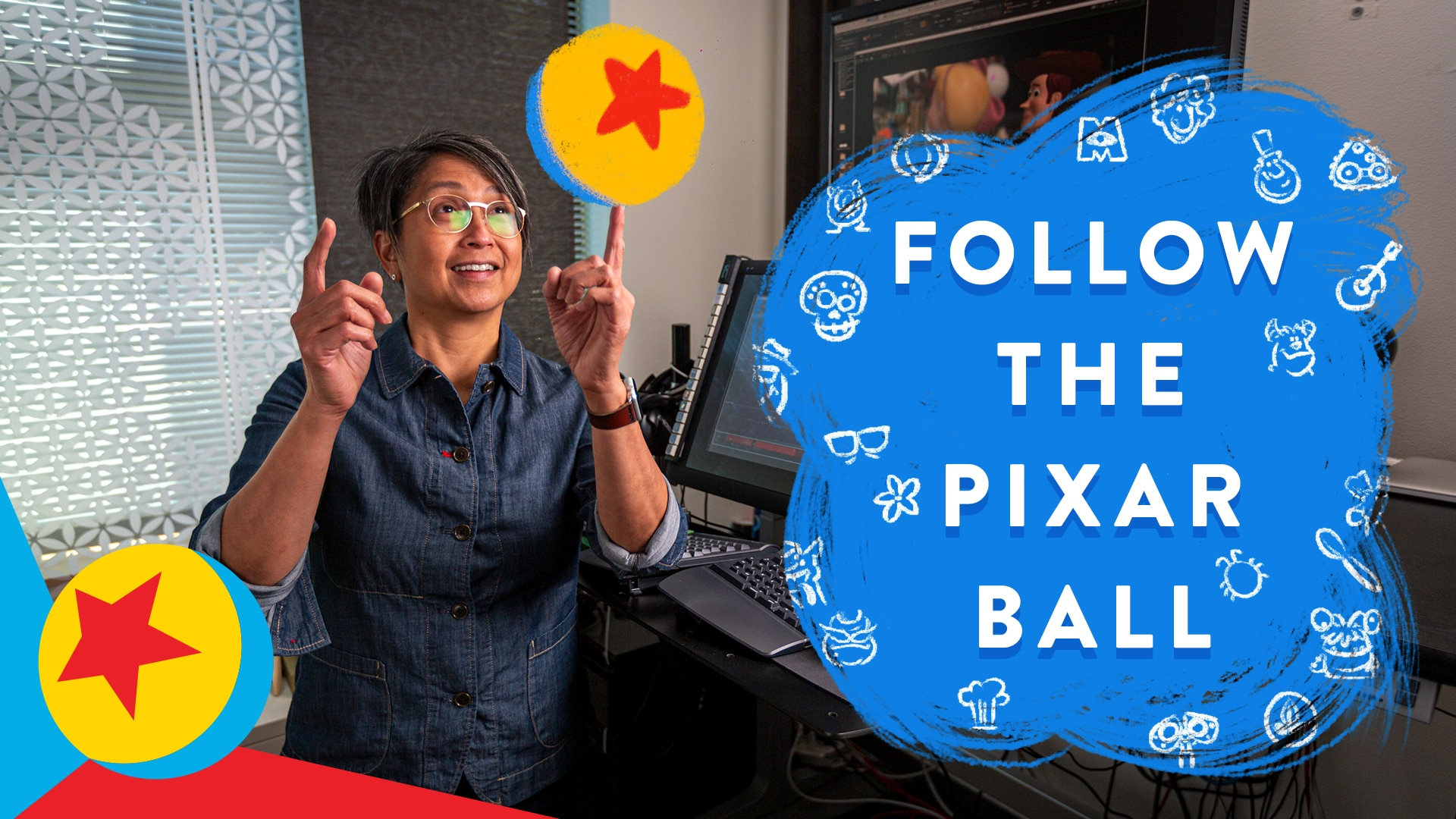 Follow the Pixar Ball on a Campus Tour | Pixar