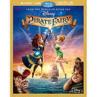 Image of The Pirate Fairy Blu-ray Combo Pack # 1