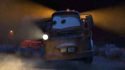 Mater Drives Backwards