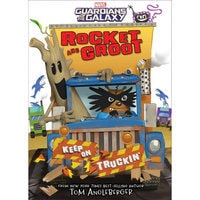 Rocket and Groot: Keep on Truckin'! Book