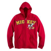 Mickey Mouse Zip Hoodie for Adults