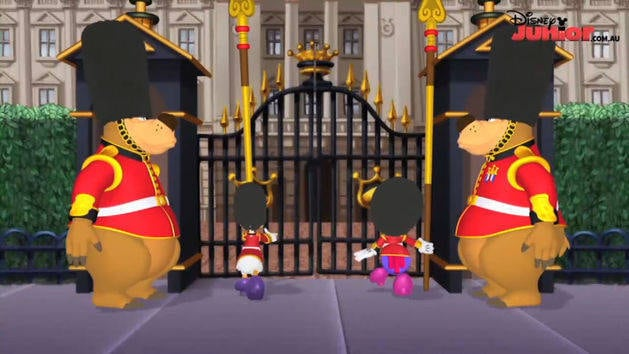 Minnie's Bow Toons - Royal Delivery
