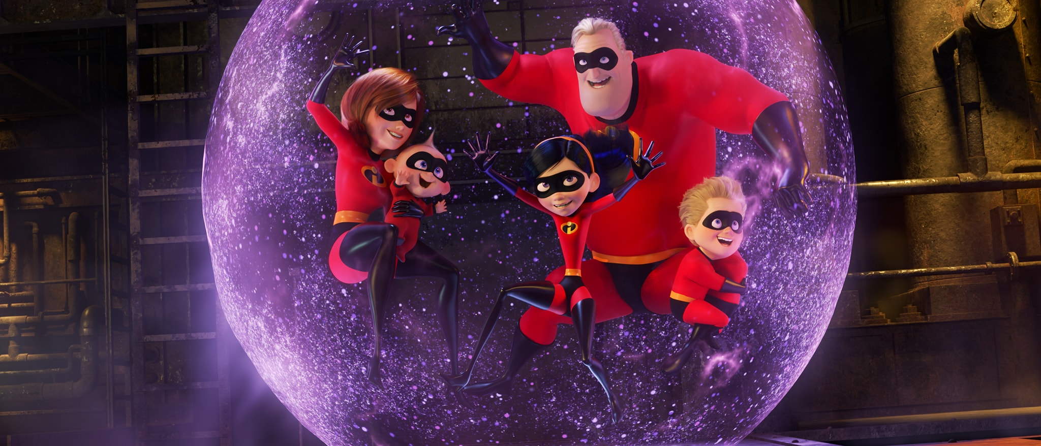 Incredibles 2 Hero Home Ents